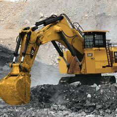 Used Construction Equipment, Construction Machines, Minions, Cat Excavator, Earth Moving Equipment, Caterpillar Equipment, Tonka Toys, Crawler Tractor, Heavy Machinery