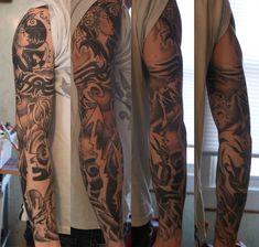 40 Full Sleeve Tattoo Designs dieses Jahr zu versuchen #designs #dieses #sleeve #tattoo #versuchen