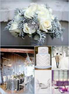 "Rustic Glam Inspiration for a Winter Wedding ~ David Tutera's ""It's a Bride's Life"" #realbrides #misscountrymusicbride"