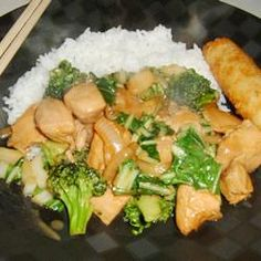 Chicken Broccoli Ca-Unieng's Style Recipe with Bok Choy & Oyster Sauce