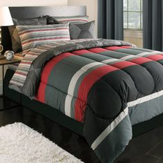 Dylan 39 s bedding on pinterest boy bedding beach bedding for Boys rugby bedroom ideas