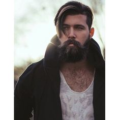 Trending beard style men in Find the best beard designs and shapes for their short and long facial hair with masculine character and charm. Beard Styles For Men, Hair And Beard Styles, Short Hair Styles, Medium Beard Styles, Epic Beard, Men Beard, Long Beards, Moustaches, Beard Tattoo