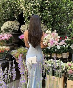 Aesthetic Hair, Flower Aesthetic, Summer Aesthetic, Aesthetic Clothes, Cute Dresses, Cute Outfits, Trendy Outfits, Look Fashion, Fashion Outfits