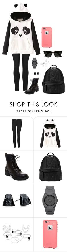 """Going to the dentist"" by squishyfish16 ❤ liked on Polyvore featuring Indigo Collection, Garcia, Madden Girl, CC and Ray-Ban"