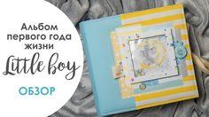 "Обзор альбома для малыша. Колекция бумаги ""My little baby boy"" ""Фабрики... My Little Baby, Mom And Baby, Little Boys, Baby Boy, Baby Album, Mini Photo, Forest Friends, All Paper, Baby Scrapbook"