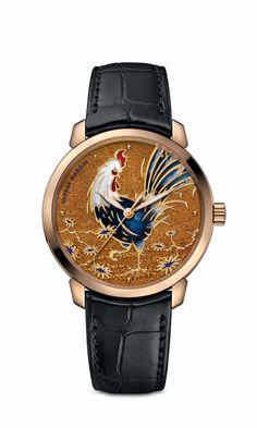 Este reloj es una obra de arte que exterioriza el saber hacer de la firma, así como la tradición relojera.