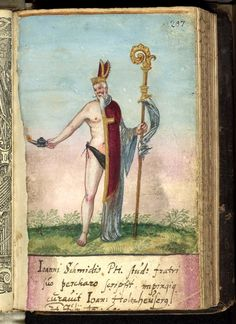 """the Lord Bishop/servant bifid clearly closely related to the Pugillus Facetoarum (1608) figure. from Fabri's album amicorum (entries dtaed 1595-1608) -- so this painting prersumably to be dated 1608? via the Herzogin Anna Amalia, Weimar, website, REPINNED FROM MY """"ALBUM AMICORUM"""" BOARD"""