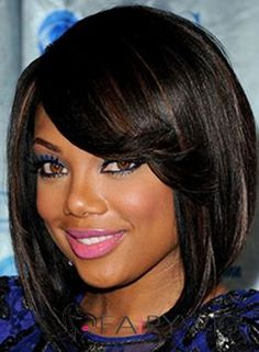 50 Gorgeous Short Black Hairstyles For Womens Short Bob Hairstyles for Black Women Fringe Hairstyles, Short Hairstyles For Women, Hairstyles Haircuts, Cool Hairstyles, Hairstyle Ideas, Bob Haircuts, Layered Hairstyles, Updos Hairstyle, Asymmetrical Hairstyles