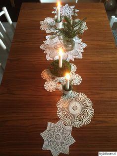kynttilät,joulu,pitsi,pitsiliina,kaitaliina