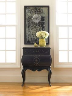 "Hooker Furniture, Seven Seas Collection Bombe Accent Chest 25"" W X 17"" D X 32"" H"