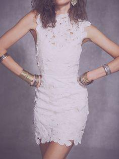 Dolce Vita Jayleen Vestido de encaje de Free People Ropa Boutique