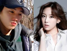 Taeyeon and Her elder Brother,they are so much look alike   <3<3<3