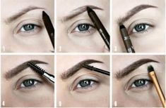 17 genius tricks for the best damn eyebrows of your life - Makeup for Best Skins! Tweezing Eyebrows, Thick Eyebrows, Perfect Eyebrows, Plucking Eyebrows, Eye Brows, Eye Makeup Steps, Makeup Tips, Makeup Hacks, Makeup Ideas