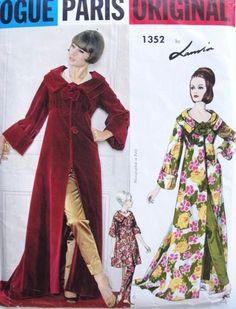Jeanne Lanvin A/H 1963-64. Mannequin Mickey Belverger.