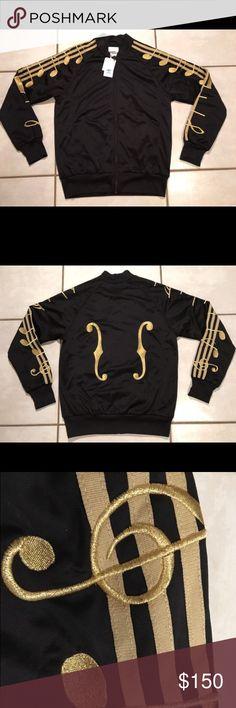 Jeremy Scott x adidas Music Note Track Jacket Rare adidas x Jeremy Scott track jacket. Like new. Jeremy Scott Jackets & Coats Performance Jackets