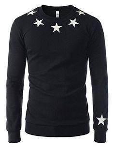 Showblanc (SBMZT70) Attractive Men Slim Figure Round Neck Casual Sweatshirts BLACK US S(Tag size XL) Showblanc http://www.amazon.com/dp/B01BXX1F56/ref=cm_sw_r_pi_dp_sT65wb1JQQ09S