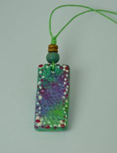 Handmade modelling clay necklace for men and by BenekliZencefil