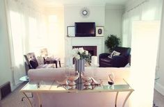 Beautifully put together living room
