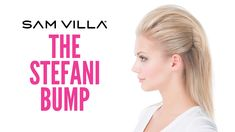 Gwen Stefani has managed to stay true to herself and her style for over a decade now. Learn how to create one of her many fun hairstyles, one we call the Stefani Bump.