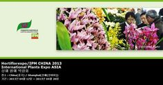 Hortiflorexpo/IPM CHINA 2013 International Plants Expo ASIA 상해 원예 박람회