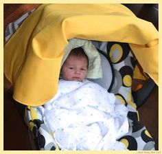 ... and away we go!: Car Seat Cover Tutorial