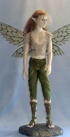 Woodelf - Hannie Sarris Fairy Fantasy Sculptures