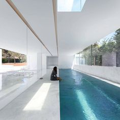 House between the pine forest by Fran Silvestre Arquitectos in Paterna,Spain.(2016) •#Design_Only