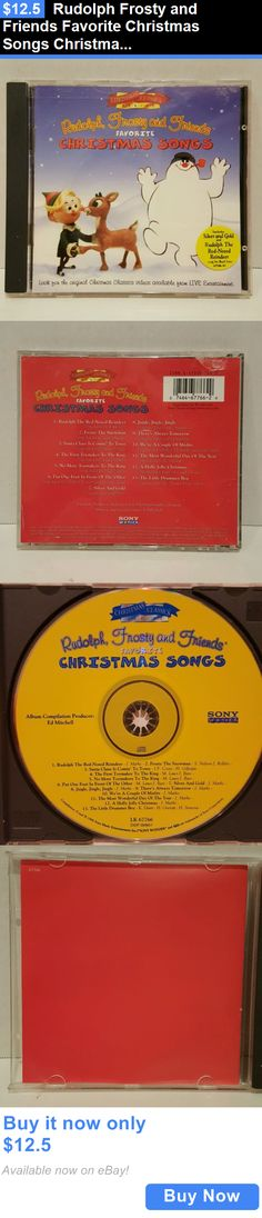 Christmas Songs And Album: Rudolph Frosty And Friends Favorite Christmas Songs Christmas Classics Sony BUY IT NOW ONLY: $12.5