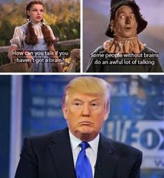 Funny Donald Trump Pictures and Viral Images: Trump Talking Without Brains