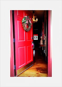 """Hunt Country Holidays Door"". SL Design™ Silvina Leone Photography™"