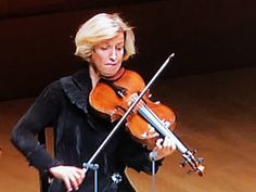 A violist from the Hagen String Quartet.  Lovely playing!