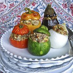 Découvrez la recette Farcis de Provence sur cuisineactuelle.fr.
