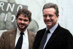Luca Dotti and Sean Hepburn Ferrer, October 25, 2011, Rare Audrey Hepburn