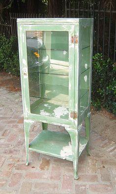 vintage medical cabinet | Antique Medical Cabinet