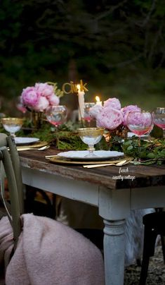 7 simple decor ideas for New Years Eve - FRENCH COUNTRY COTTAGE #newyearseve #holidayentertaining #outdoordining