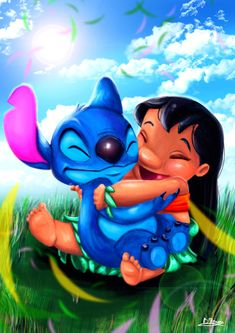Lilo and Stitch by TheBRStory on DeviantArt Lilo And Stitch Drawings, Lilo And Stitch Tattoo, Lilo And Stitch Quotes, Lilo And Stitch Characters, Stitch Disney, Lilo E Stitch, Cute Stitch, Cartoon Wallpaper Iphone, Cute Disney Wallpaper