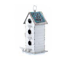 "Ptačí budka ""Loft"", 16,5 x 16,5 x 39 cm Bird, Retro, Outdoor Decor, Vintage, Number 3, Home Decor, Google, Decoration Home, Room Decor"