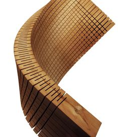 Dukta - Janus, partition wall, flexible wood structures
