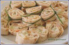 Mini-wraps au thon