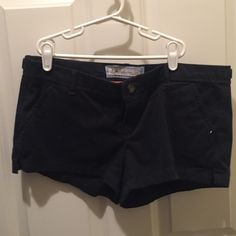 Navy Abercrombie Shorts In good condition Abercrombie & Fitch Shorts Cargos