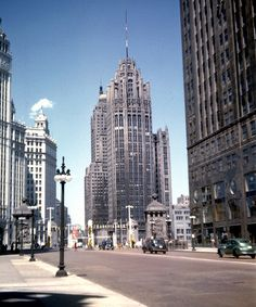 Michigan & Wacker 1952