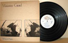 Marianne Girard - When it hurts CANADA 1982 Lp mint-- w/LyricsInner