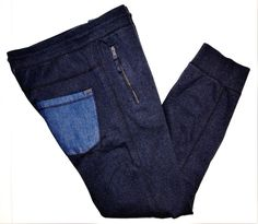 Calvin Klein Jeans collection men's jogger fleece pants size large  #CalvinKleinJeans #Pantsjogger