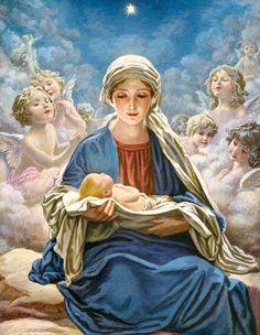 María met baby Jesus......................lb xxx