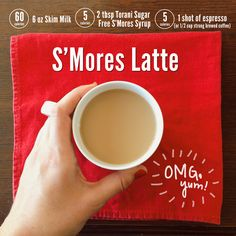 Skinny S'Mores Latte // Made with Torani