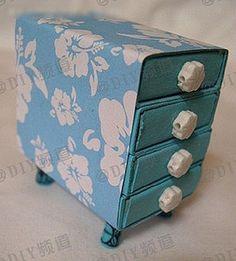 DIY Matches Box Drawer