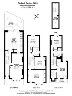 Elm Bank- floor plan