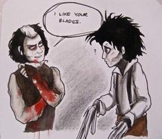Sweeney Todd meets Edward Scissorhands  Love Johnny Depp!<3