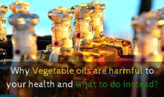 Right from deep frying to salad dressing we use oil to cook almost everything.  Oil turns out to be a major ingredient that we consume everyday, in a rather large quantity.