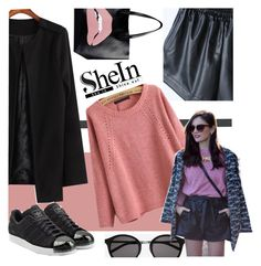 """""""cool ^ ^"""" by syoungju ❤ liked on Polyvore featuring Mode, Yves Saint Laurent, RED Valentino, adidas Originals und vintage"""
